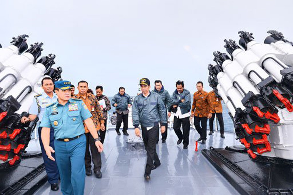 Defending territorial integrity over Natuna islands