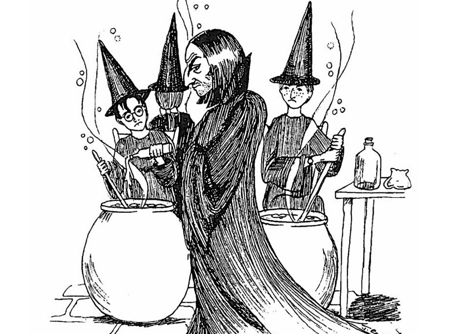 Marvel at JK Rowling's original Harry Potter sketches