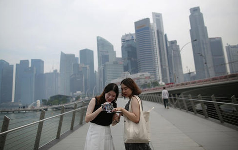 Singapore hit again by haze