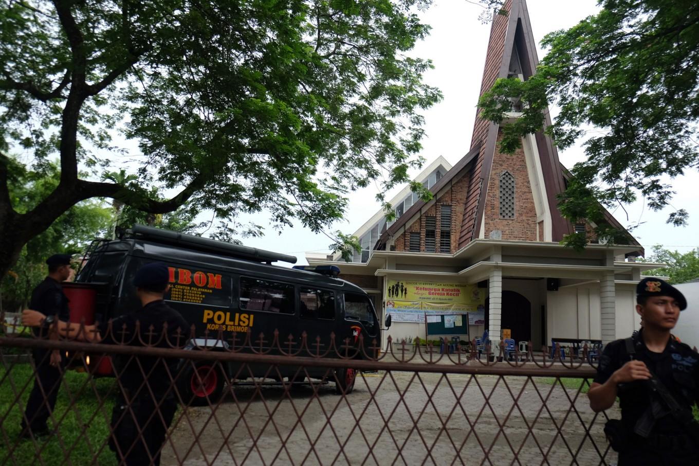 Reverend still in shock after Medan church attack