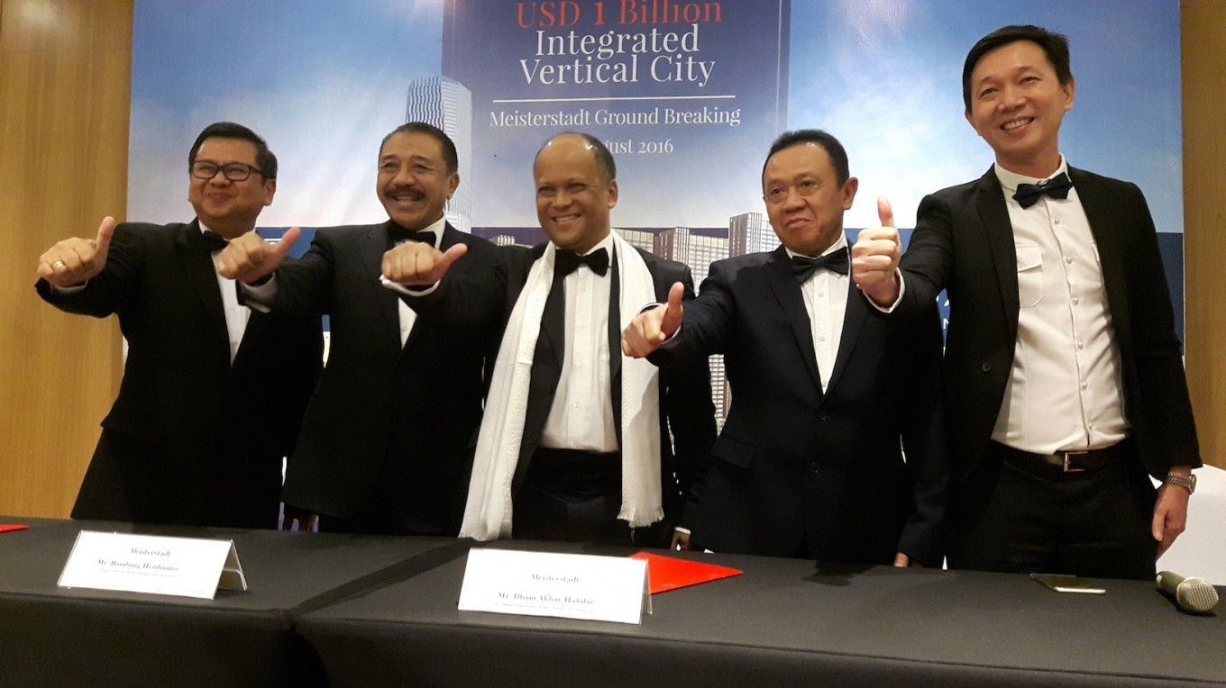 Habibie's $1b superblock completes first phase of construction, eyes foreign buyers
