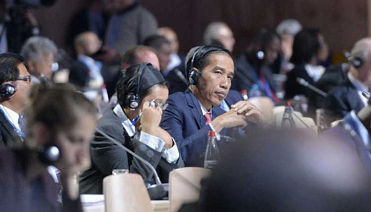 'Pak' Jokowi: This time you should go to New York!