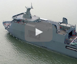 Sailing Ahead: Strategic sealift vessel (SSV) warship