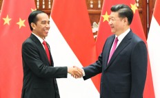 Jokowi has fifth meeting with China's Xi