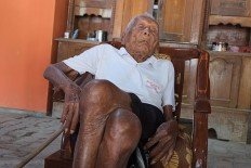 Indonesia's oldest living person attributes longevity to wholeheartedness
