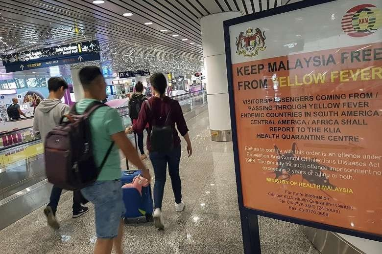 Zika travel advisory issued for 11 Southeast Asia countries