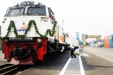 GE aims to supply locomotives for Sumatra and Sulawesi
