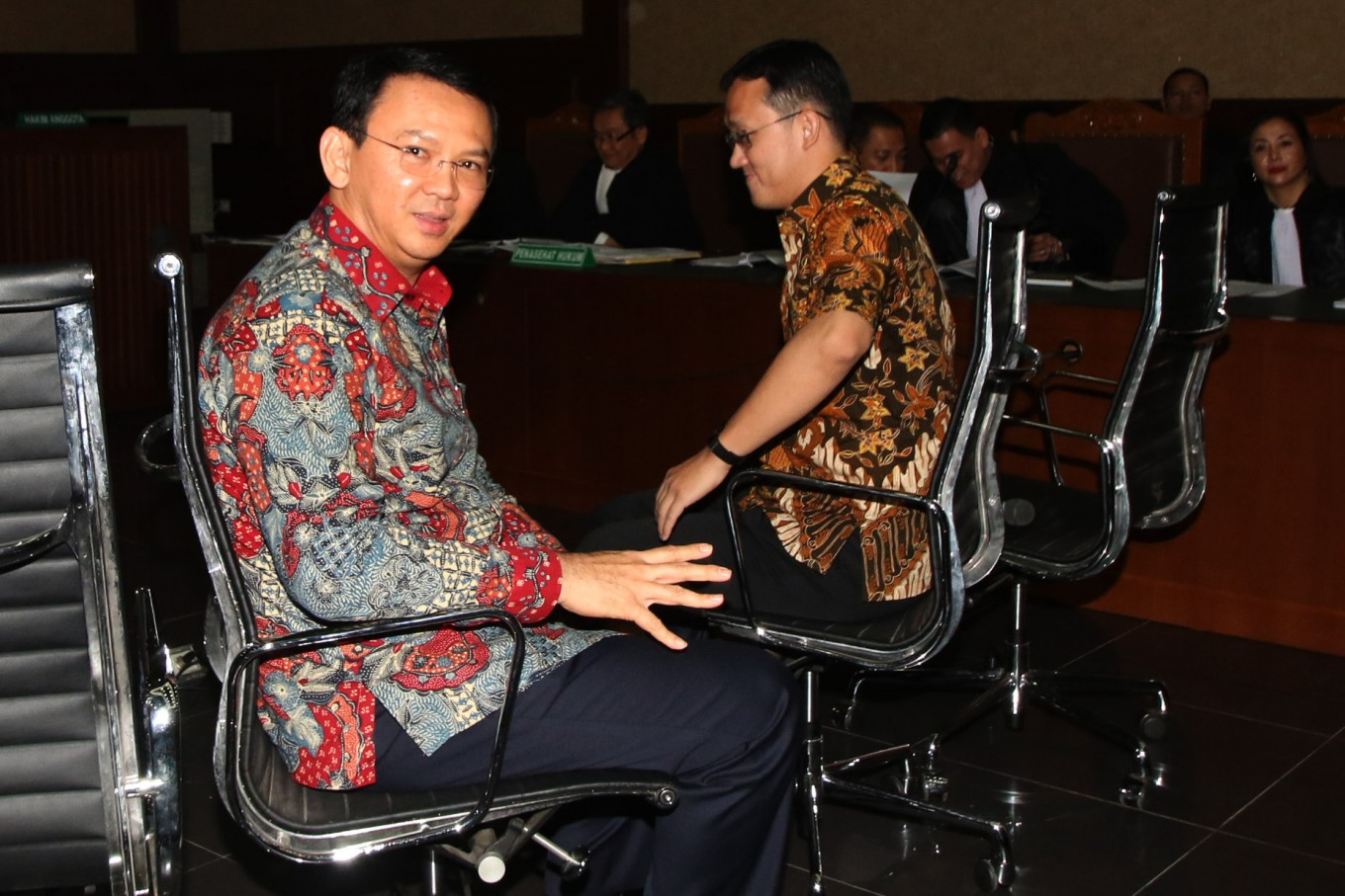 Ahok points finger at Fauzi Bowo on reclamation