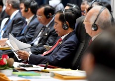 Jokowi calls on ASEAN to improve maritime cooperation