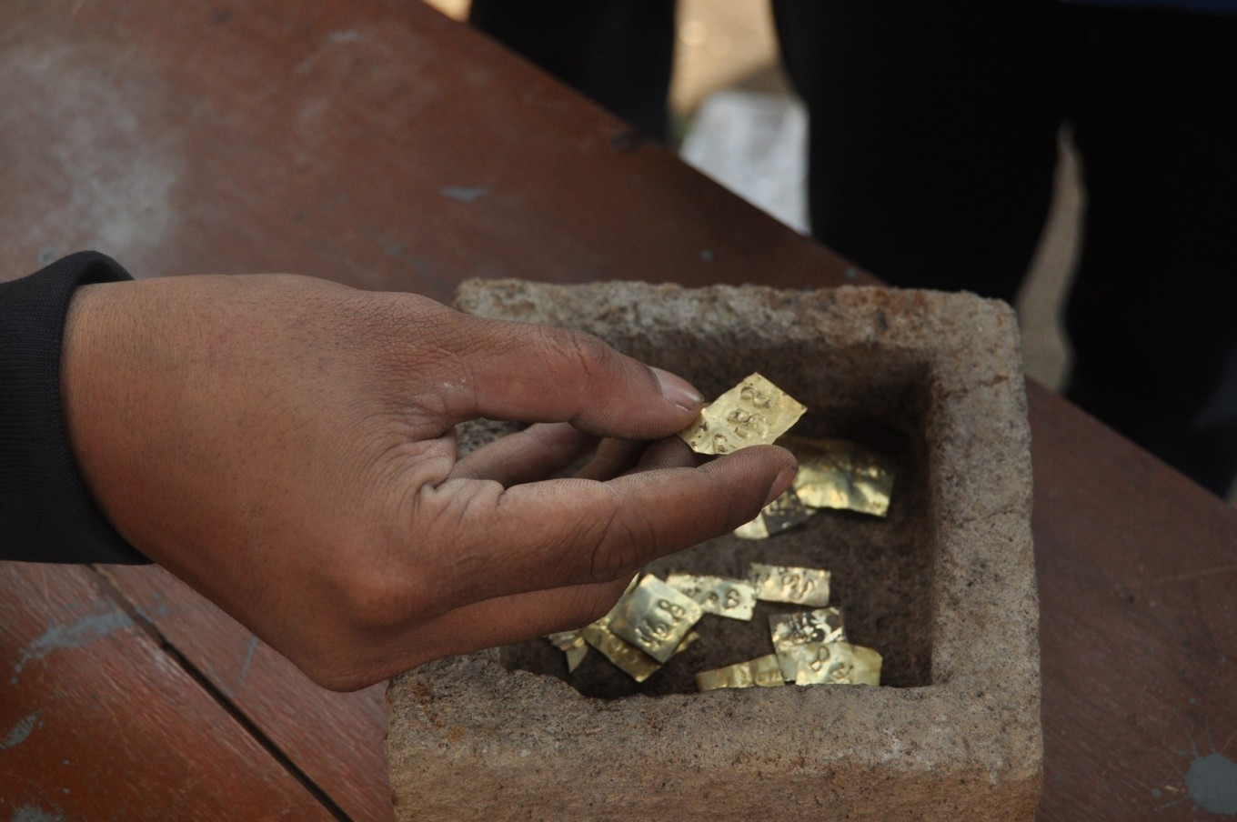 Ancient gold plates found in Boyolali