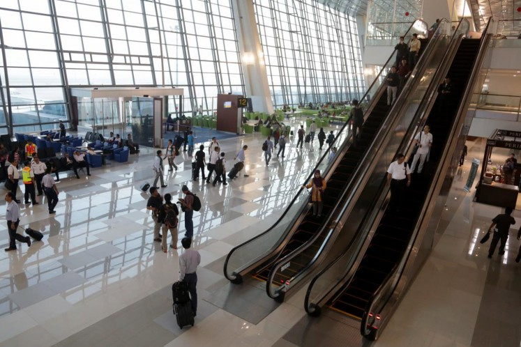 Indonesia Airports mobile app provides real time flight, airport information