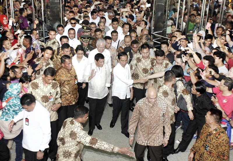 Jokowi, Duterte firm friends