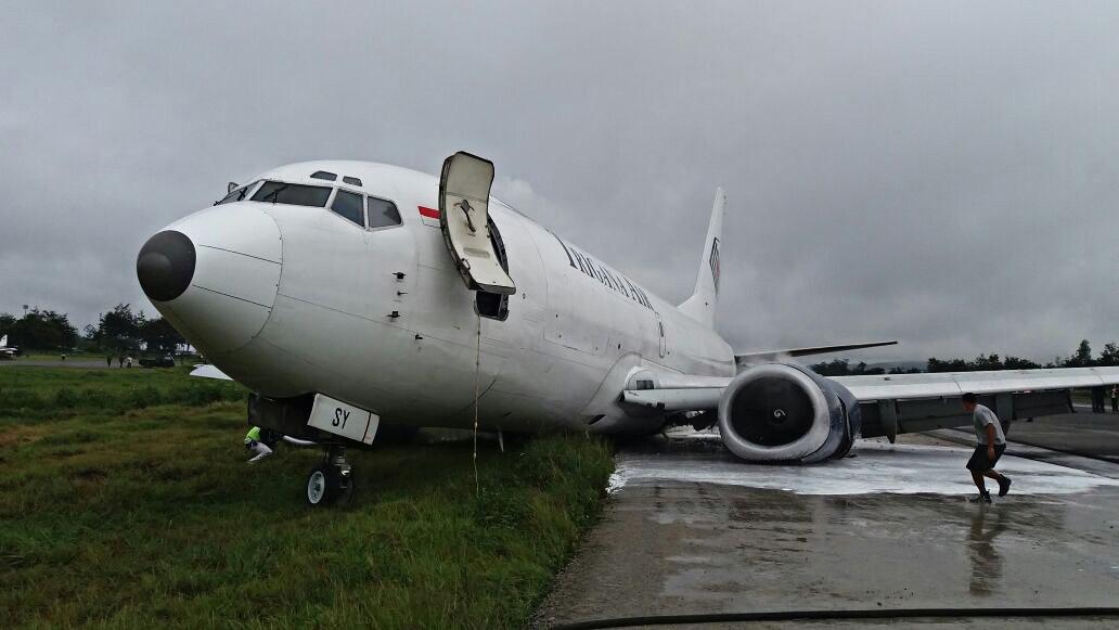 Wamena airport closes after plane skids off runway