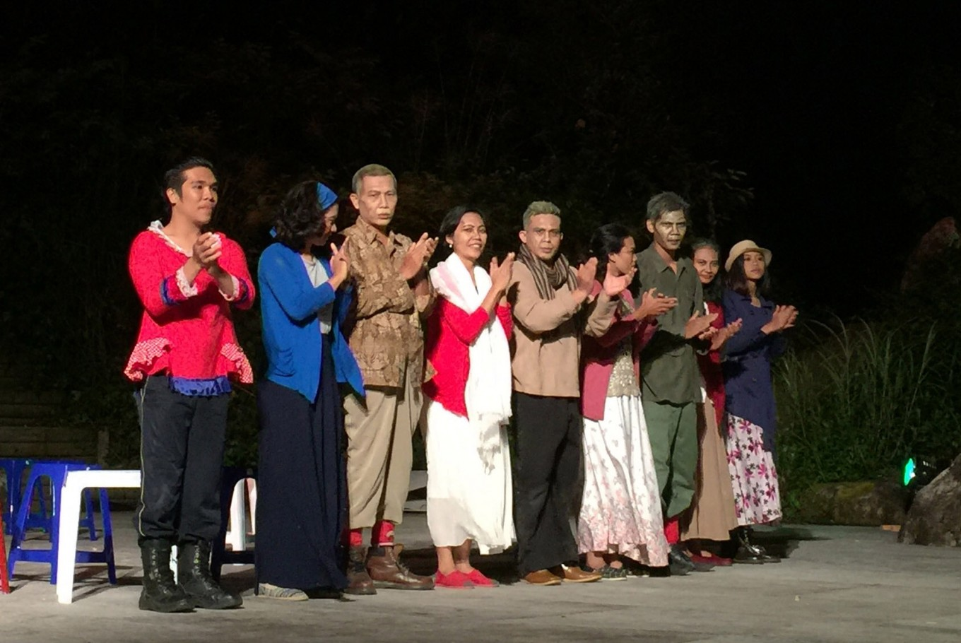 Indonesian theater steals the show at Asian theater festival