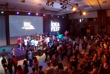 Creative ideas, knowledge attract festivalgoers in Jakarta