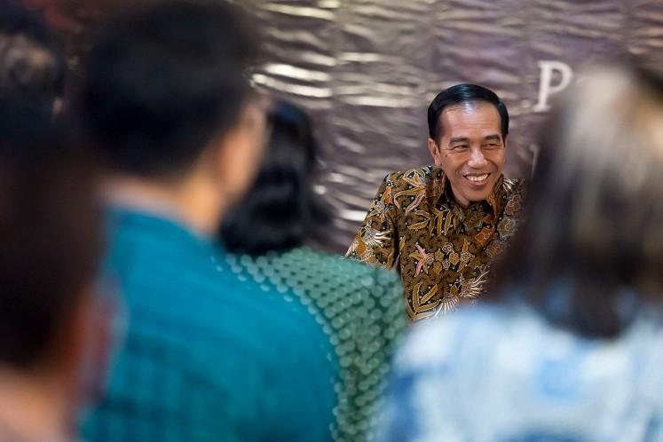 Artists meet Jokowi: He promises eternal funds to support art, culture