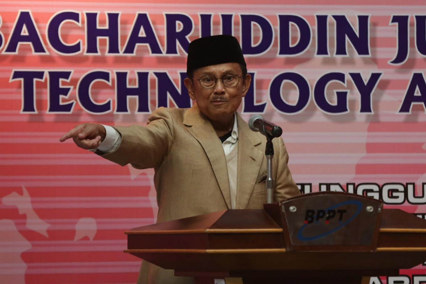 Habibie admitted to hospital, under intensive care