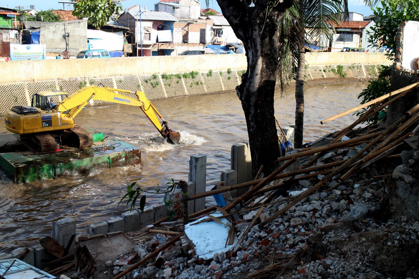 Ciliwung restoration reaches 34 percent completion