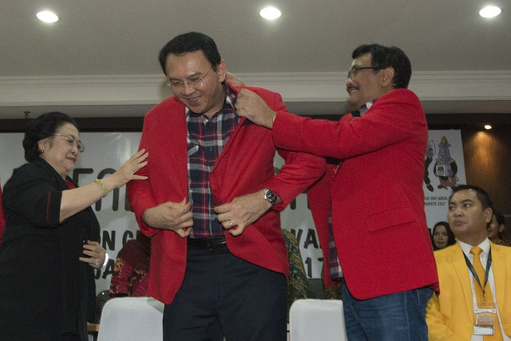 Ahok apologizes to Muslims for alleged defamation