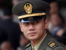 Agus groomed as Yudhoyono's political heir