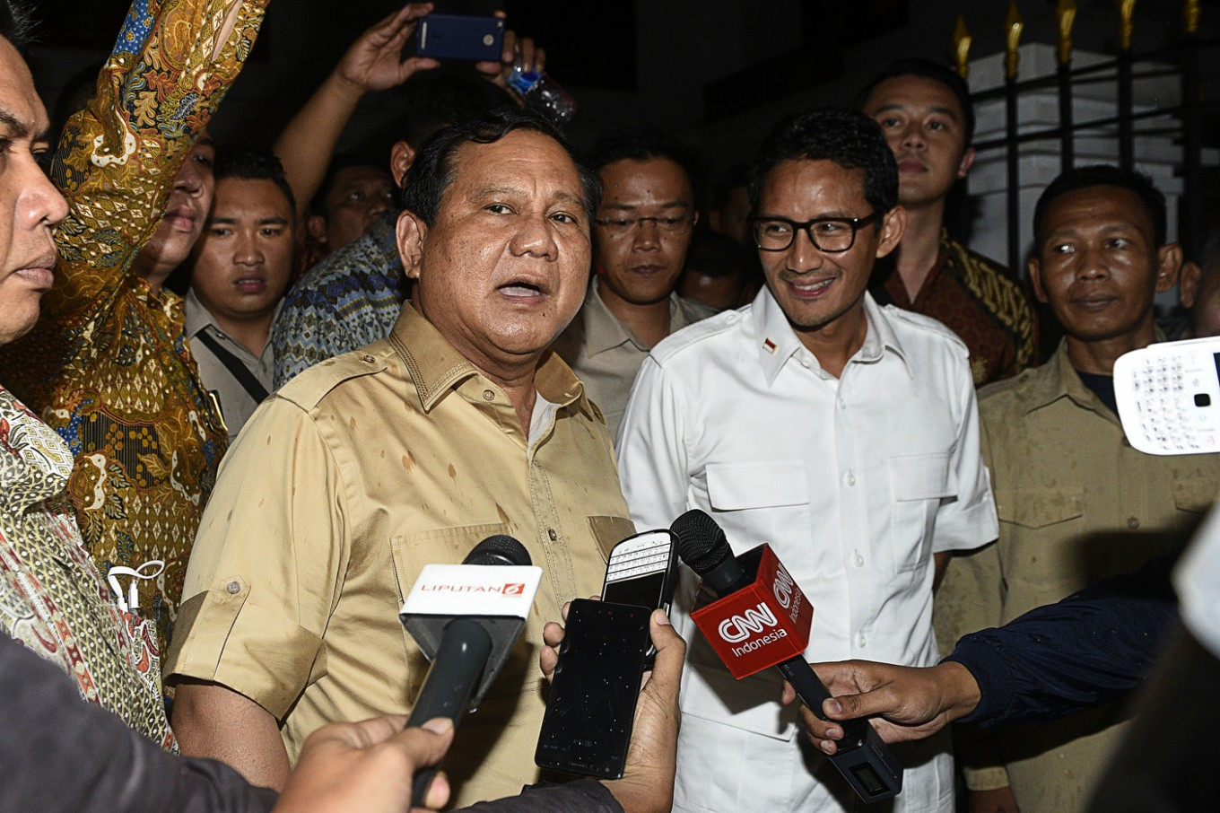 Prabowo favors Anies even though he is not party member