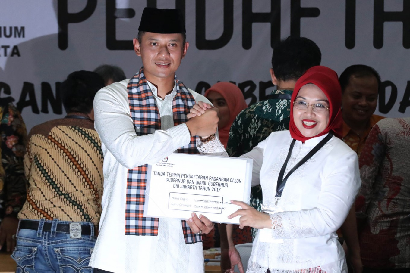 Agus Yudhoyono posts visit to Ahok on Instagram
