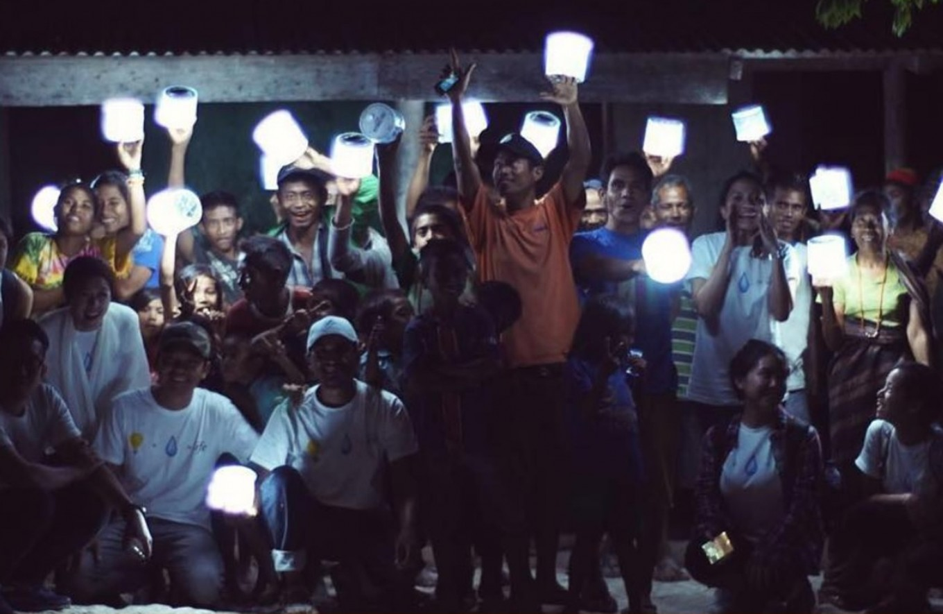 Foundation campaigns to help East Sumba tackle water, electricity issues