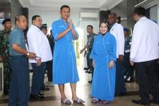 Jakarta's gubernatorial candidates receive health check-ups