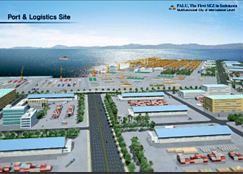 Companies keep doing business in Palu special economic zone despite outbreak