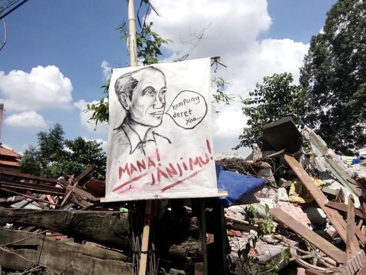 Bukit Duri figure denies Ahok's claim about kampung susun