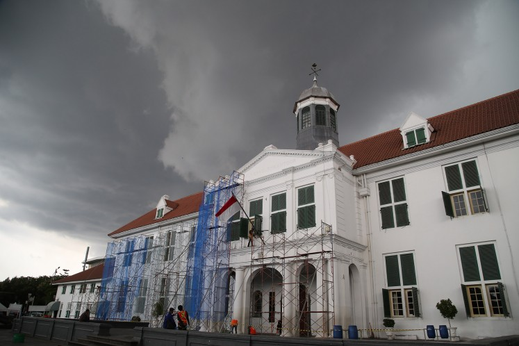 """In the proposal, titled """"The Age of Trade: Old Town of Jakarta and 4 Outlying Islands"""", the government introduced Kota Tua as the city that saw thelargest volume of trade in Asia during the """"golden age"""" of trade in the 17th and 18th centuries."""