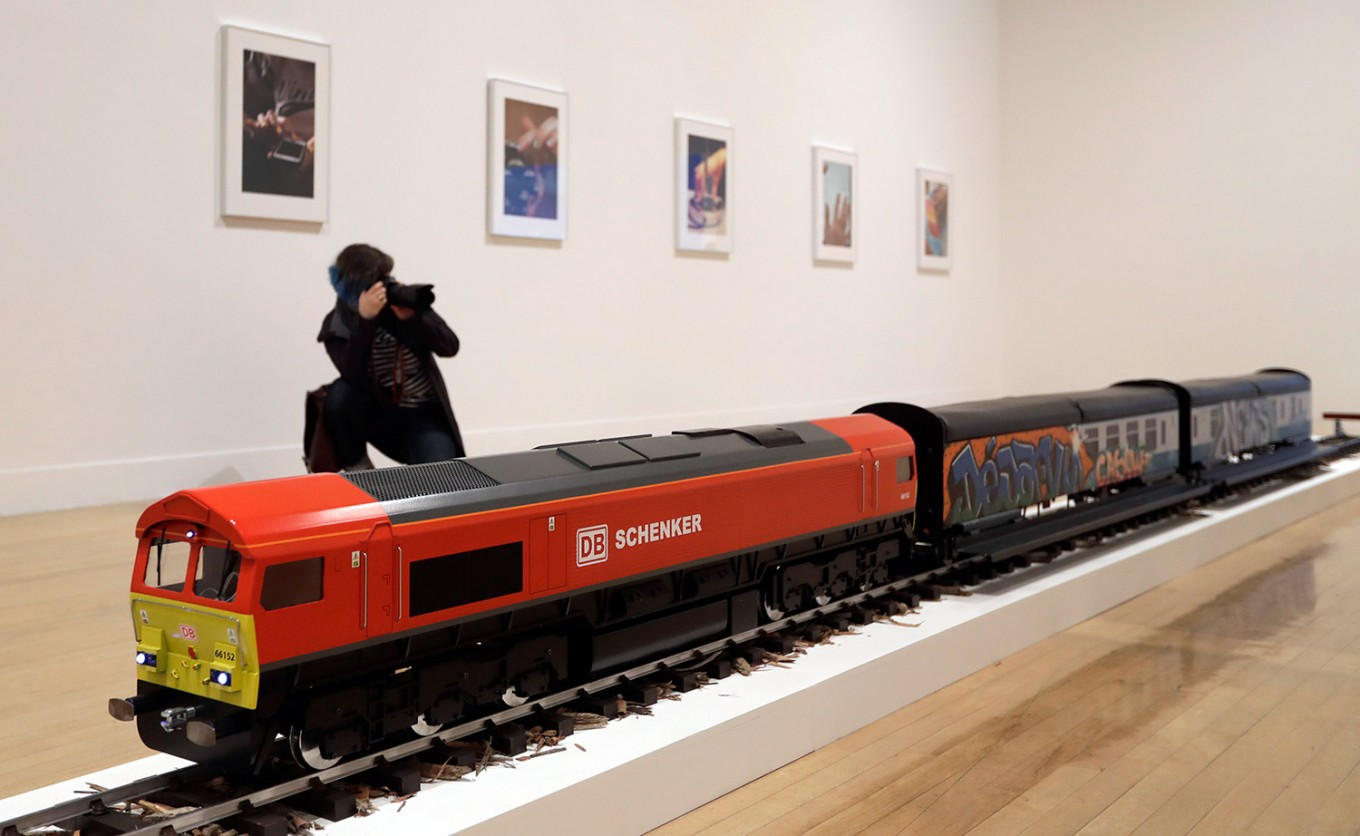 Train, buttocks among contenders for art's Turner Prize