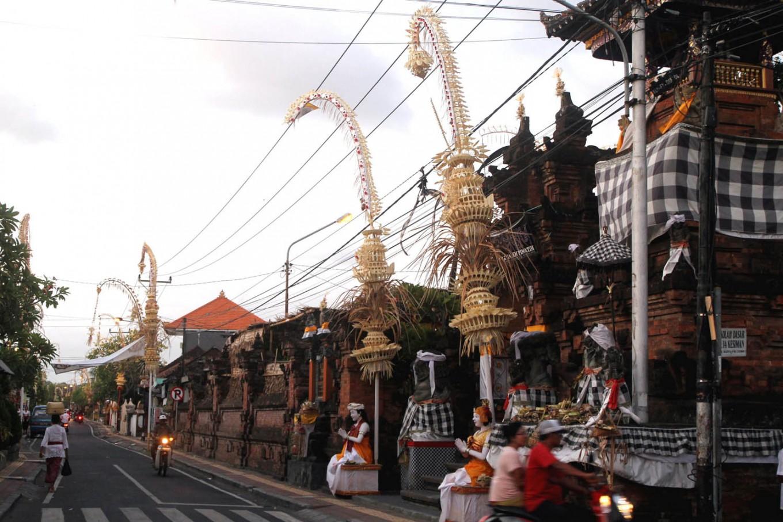 Galungan wards off evil among Hindus