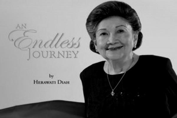 Senior journo Herawati Diah passes away