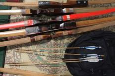 Bows and arrows in Jemparingan are made from petung bamboo and walikukun wood. JP/ Ganug Nugroho Adi