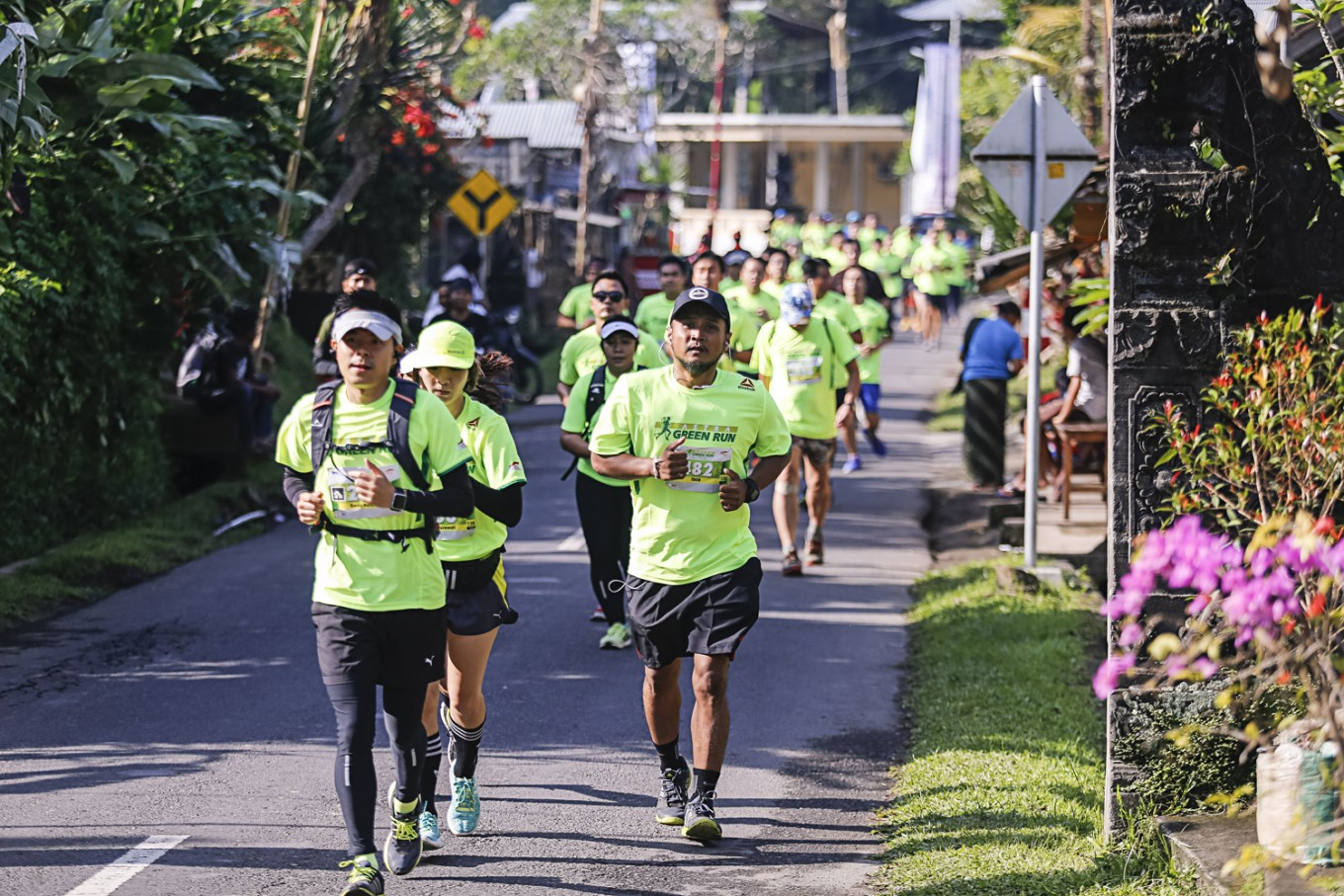 Astra holds first leg of 'green run' in Bali