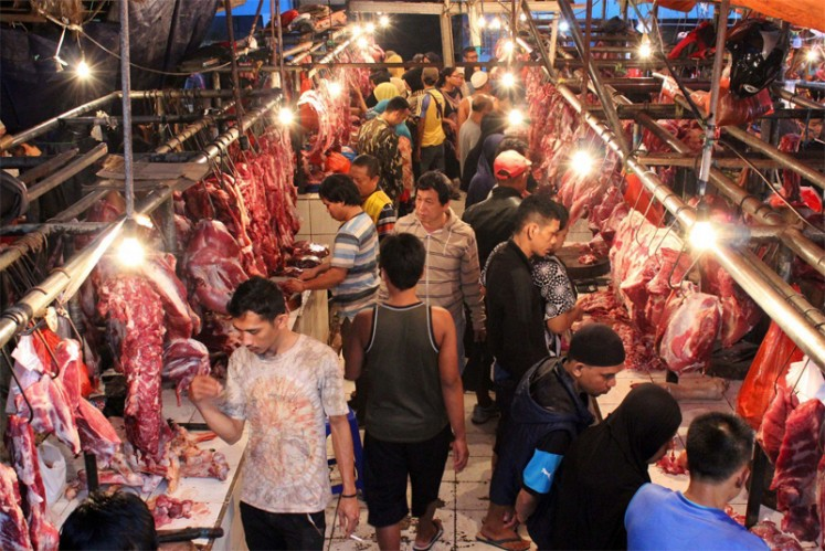 Indian buffalo meat finds place in Jakarta