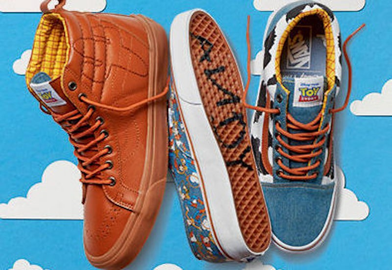 toy story vans collection 2016