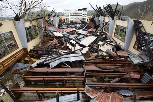 Haiti braces for a grim, at least 283 people die