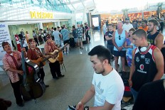 Bali airport records growing passenger numbers
