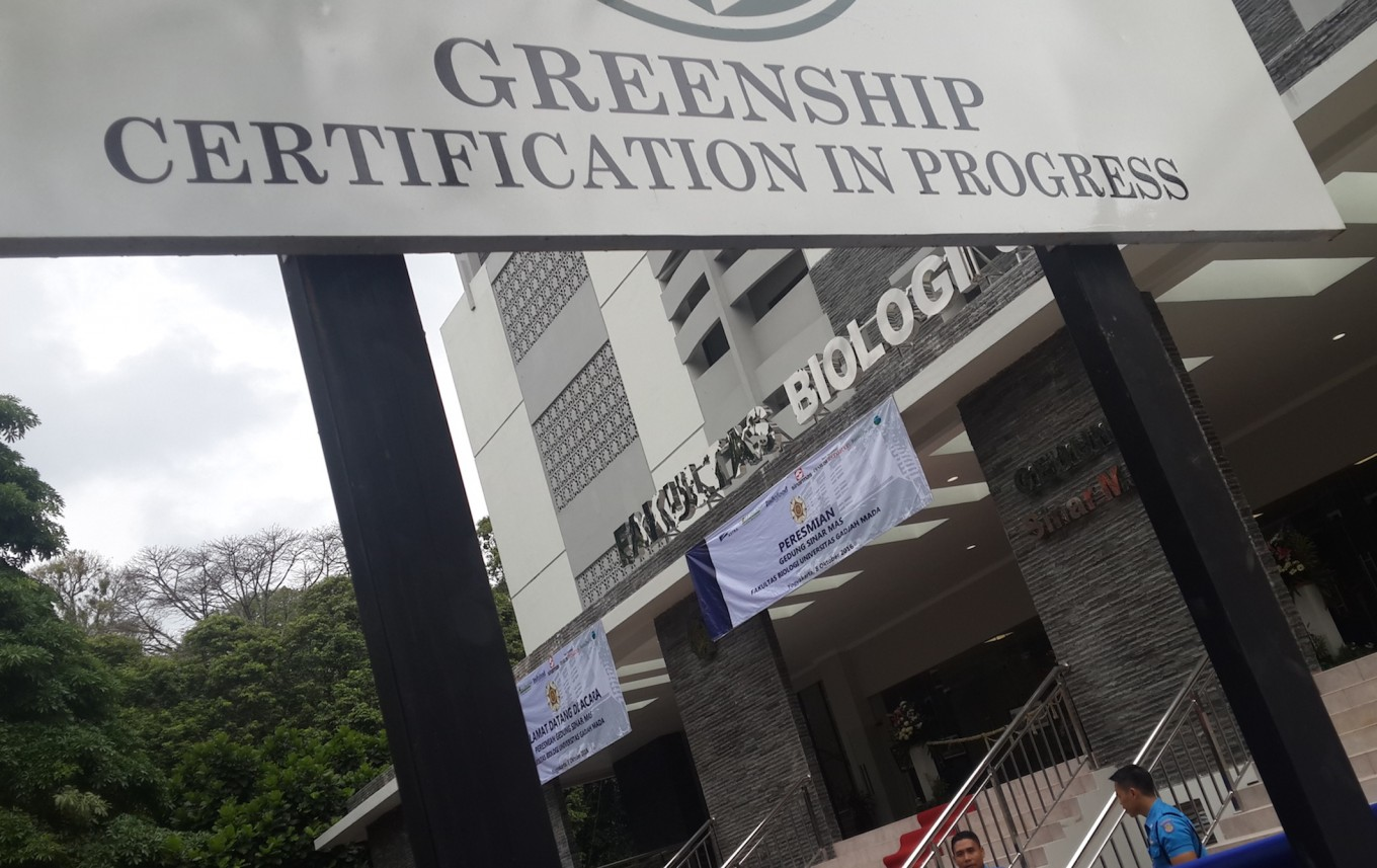 Green building inaugurated at UGM