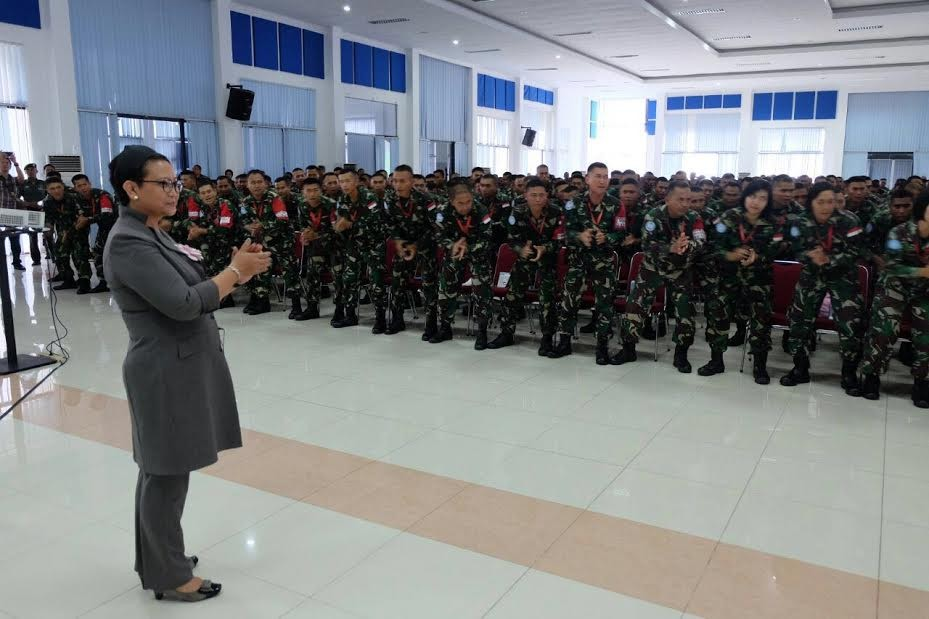 More female Indonesian peacekeepers, please