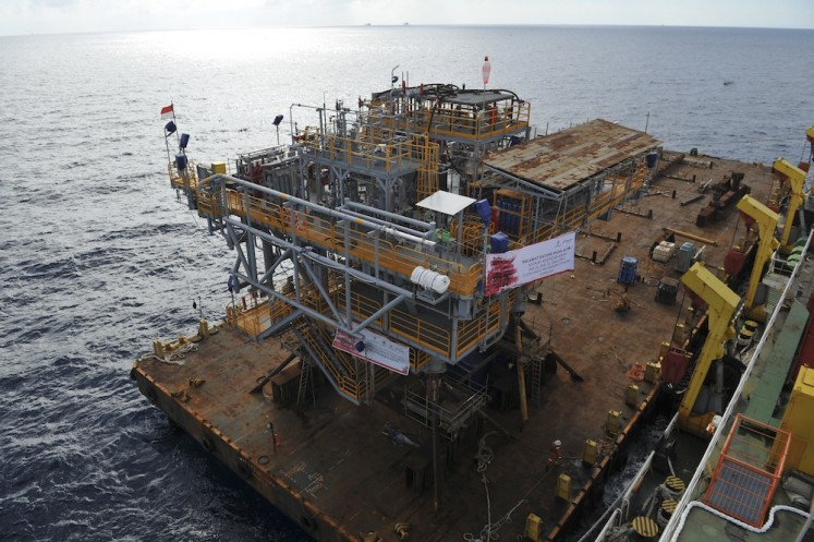 Pertamina allocates US$180m to develop Mahakam block