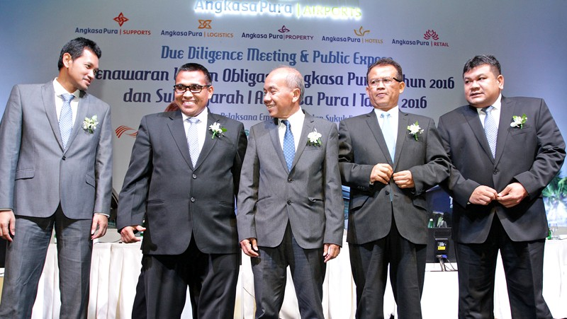 Angkasa Pura I sells bonds for airport development