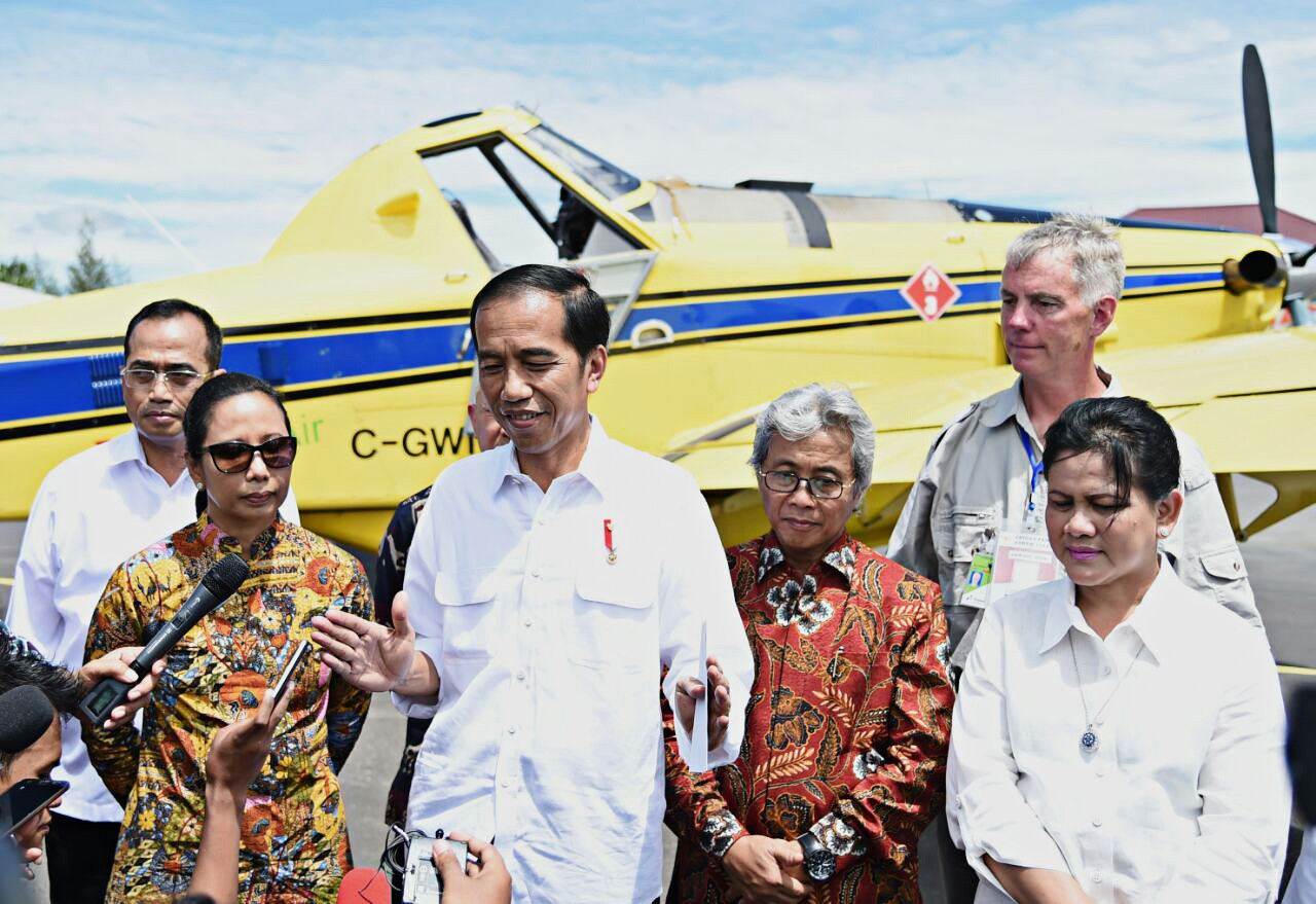 Jokowi launches new fuel pricing policy for Papua, West Papua