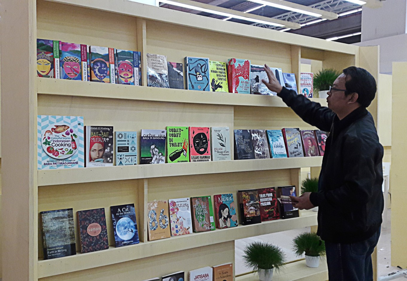 frankfurt book fair about to open books the jakarta post frankfurt book fair about to open