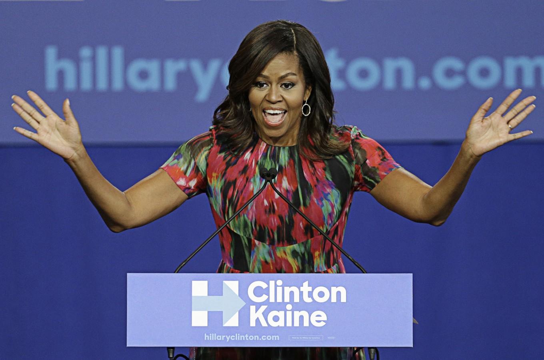 Clinton team's surprise most valuable player? Michelle Obama