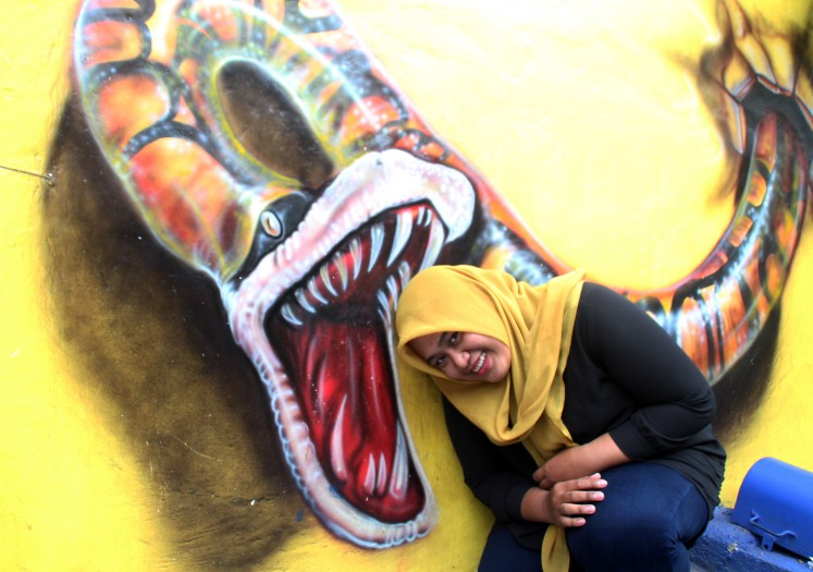 Malang's colorful kampongs attract photo enthusiasts