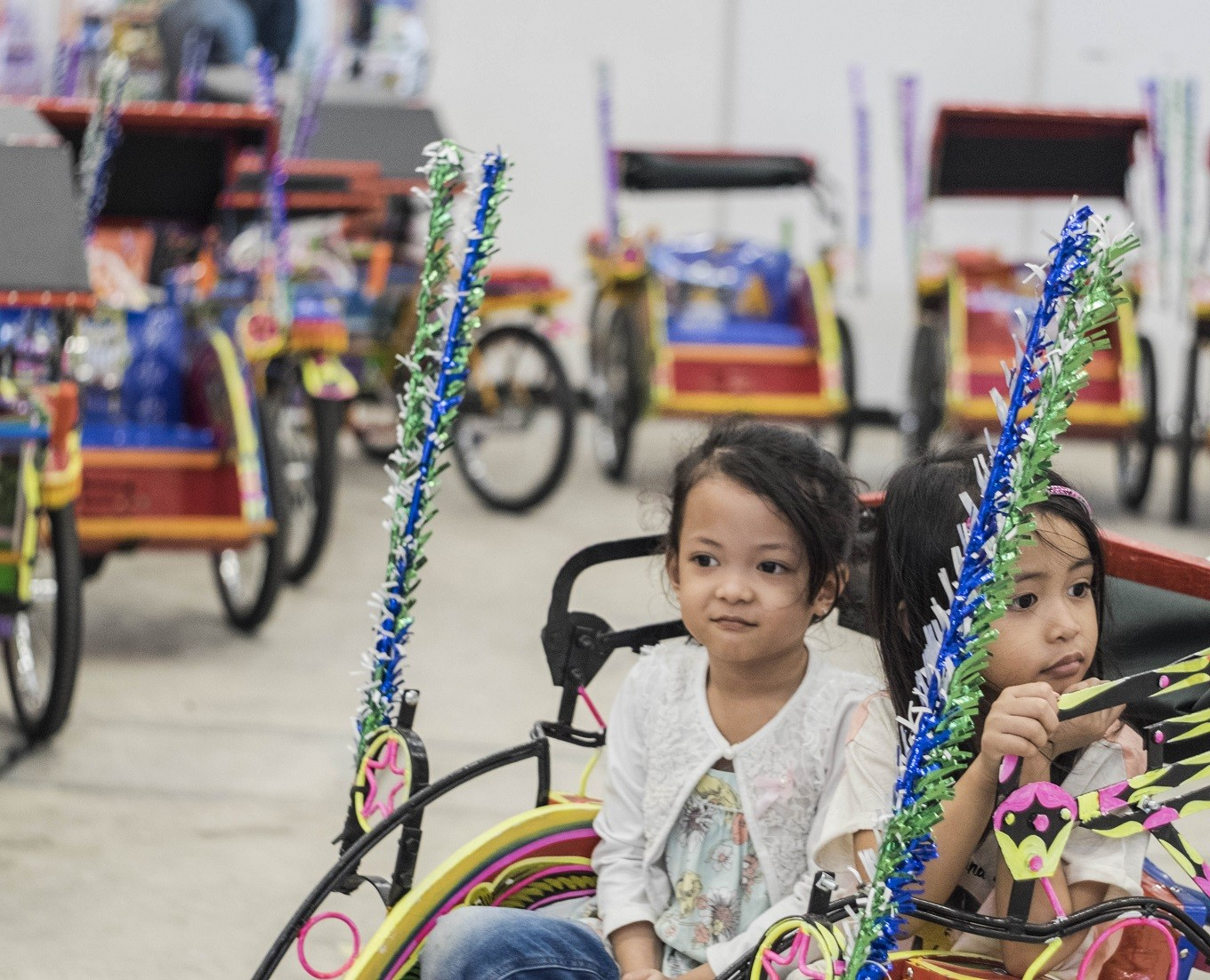 Anies plans to return 'becak' to Jakarta streets