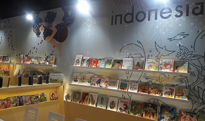 Indonesian books sell at Frankfurt fair
